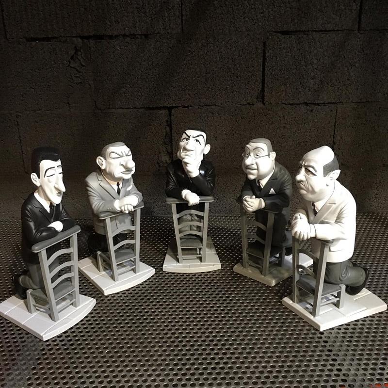 Les cinq Tontons Flingueurs au complet !